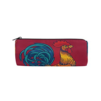 Bonie - Estuche para lápices con diseño de gallo: Amazon.es ...