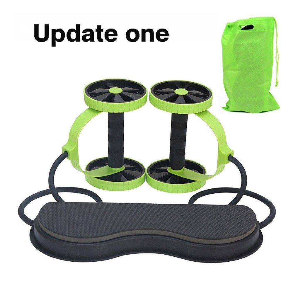 ZHANGYUSEN Zwillingsräder Multifunktions Bauchtrainer Bauen Perfekte Kurve Körper Tragbare Zugseil Gesundheit Muskel Home Training Ausrüstung