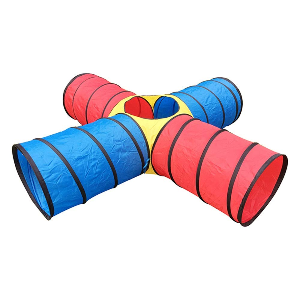 Canyixiu Children Crawling Tunnel -Portable Kids Play Tent - Kindergarten Early Education Toy Baby Crawling Tube - Indoor and Outdoor Use