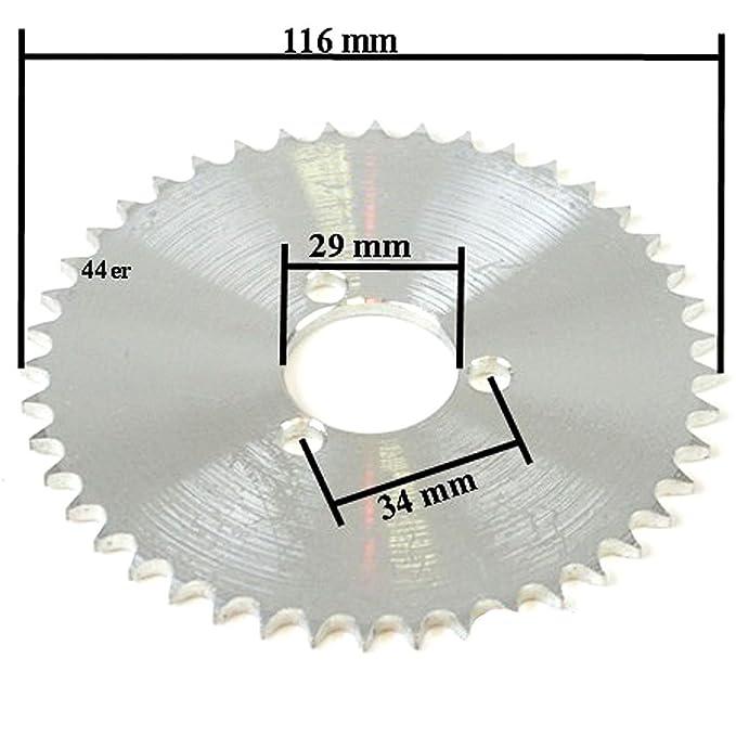 Dirt Bike Mini Cross  Ritzel 3 Loch  54 Ritzel Zähne für T8F Kette Tuning 54er