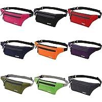 EZONEDEAL Waist Pack Bag Bag, Hip Bum Bag with Adjustable Strap Purse Outdoor Sports Jogging Travel Runner Belt for…