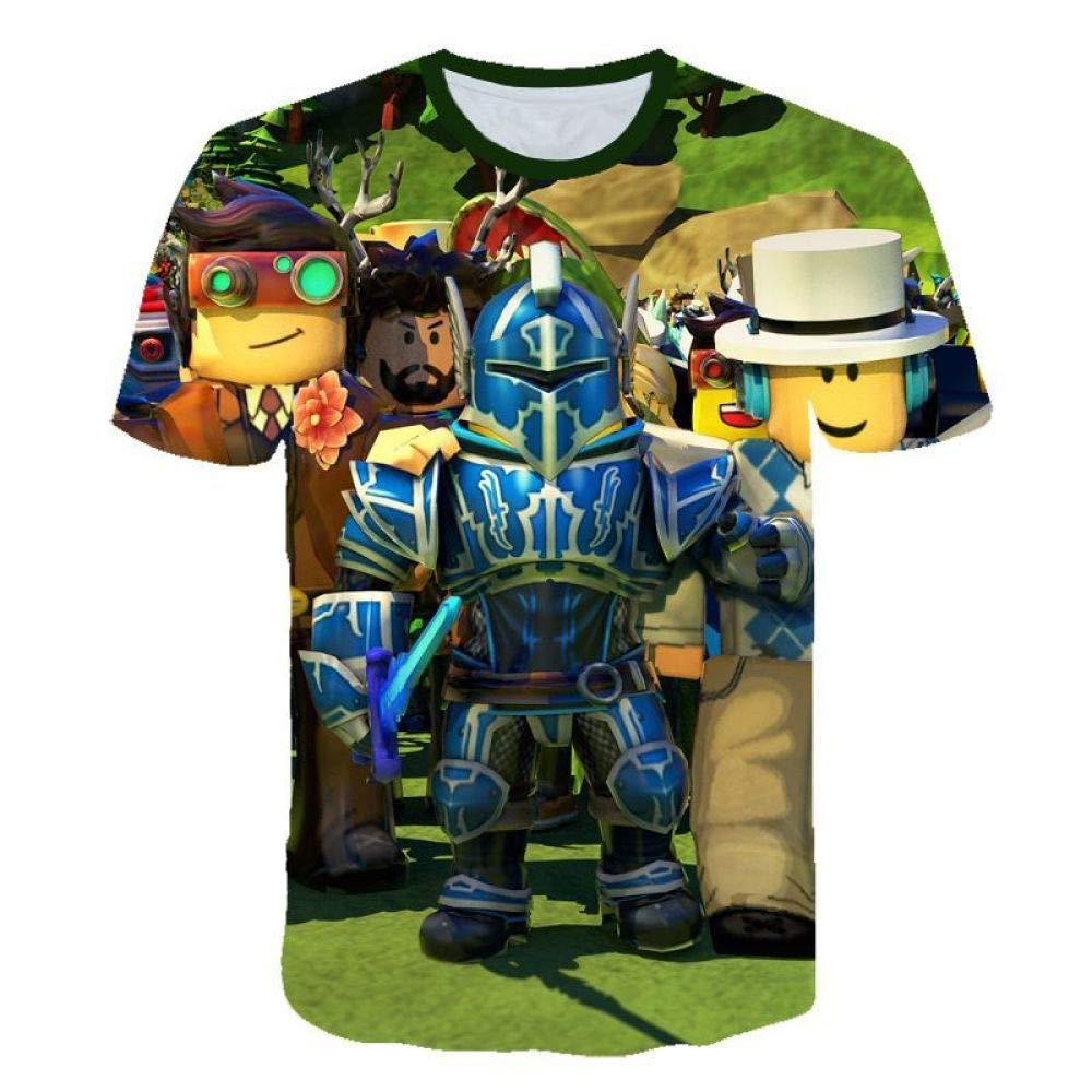 God Driver Camiseta Juego Niño Y Niña / / para Niños 3D Digital Impresión por Roblox Modelo Corto Manga Casual Parte Superior Y / A1 / Xl
