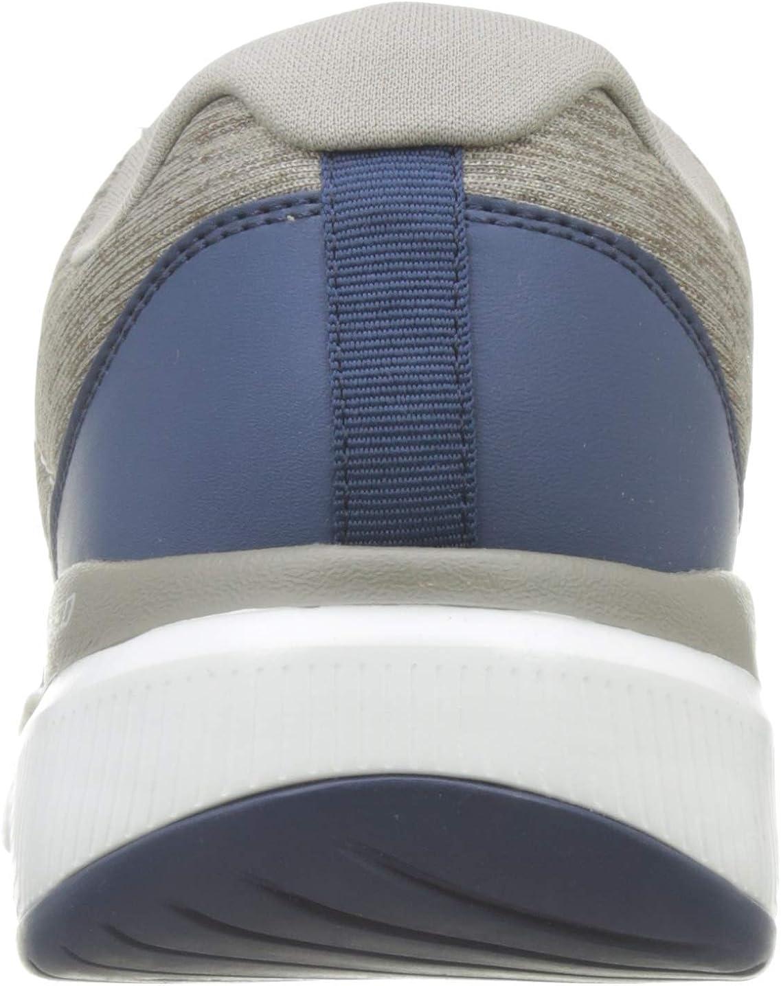 Skechers Men's Flex Advantage 3.0 Stally Oxford Beige Taupe Blue Tpbl