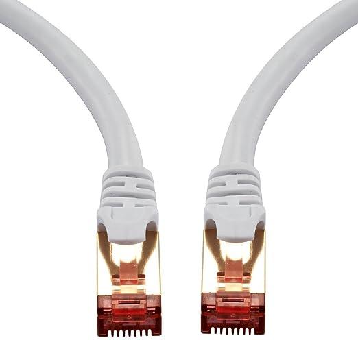 70 opinioni per IBRA Cavo di rete 1m (2 PACK)- Cat 7 Cavo Ethernet Gigabit | Cavo patch LAN RJ45