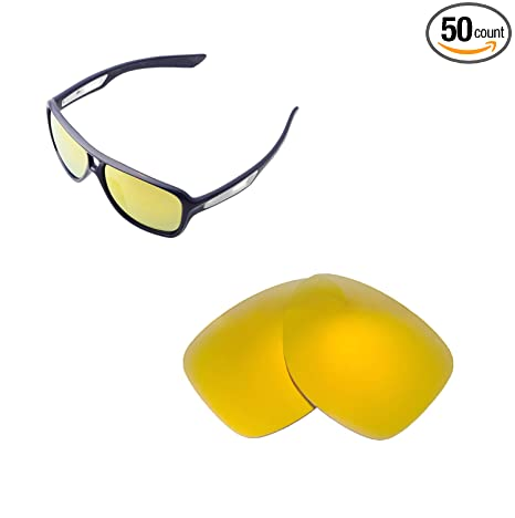 19edebfc5e Walleva Replacement Lenses for Oakley Dispatch II Sunglasses - 6 Options  Available (24K Gold Mirror