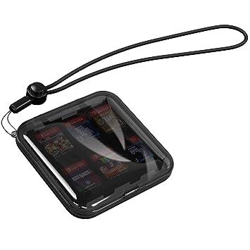 MoKo Caja Protectora Compatible con Tarjeta de Juego de Nintendo Switch, Bolsa PC Concha Dura Portátil con 12 Puestos de Cartucho de Juego, Estuche ...