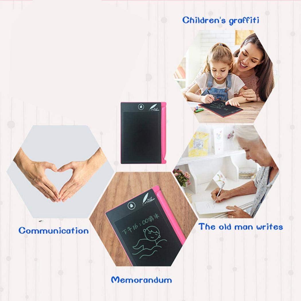 Escuela Oficina Voiks Tablet de Escritura LCD Tablero de Dibujo Electr/ónico Memo Pad Mensaje Tabl/ón para Uso en casa 4,4 Pulgadas