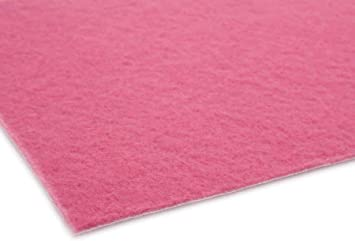 VIP Teppich Messe Eventteppich Gangl/äufer VIP Teppich Empfangsteppich Schwer Entflammbar Farbe Rosa Hochzeitsteppich Hochzeitsl/äufer 1m x 6m