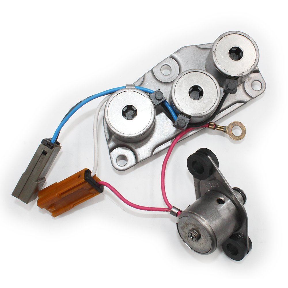 Hotwin Remanufactured RE4R01A Solenoid kit 3194041X13 Compatible With Infiniti Nissan Mazda