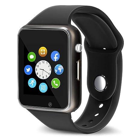 Jpantech Smartwatch - Reloj Inteligente, con podómetro ...