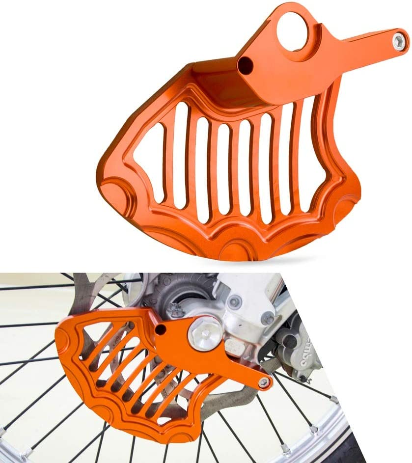 Azul H HILABEE Protector de Disco de Freno Trasero de Aluminio para 125250300450500 EXC EXCF XCF XCW