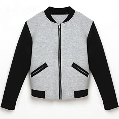 PiterNace Stylish New Jacket Women Coat Chaquetas Jaqueta Baseball Veste Femme Abrigos Invierno Baseball Jackets grey