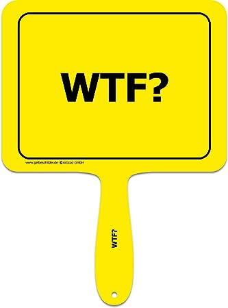 Articoo Wtf Sprüche Schild Fürs Büro Auto Fotoshootings Events