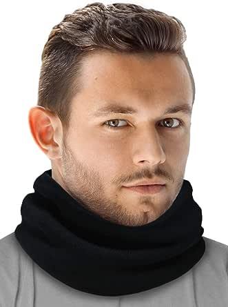 Neck Warmer - Winter Fleece Neck Gaiter & Ski Tube Scarf - Cold Weather Face Cover, Mask & Shield for Men & Women