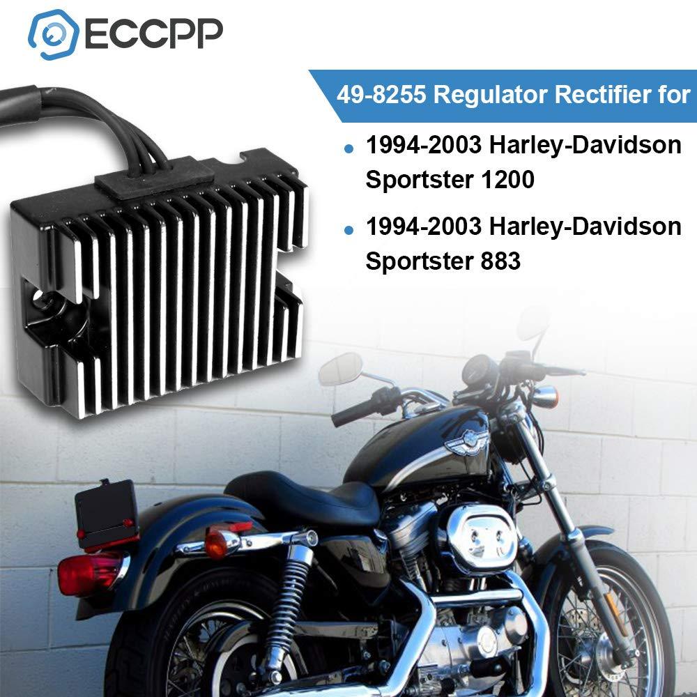 Amazon.com: ECCPP Voltage Regulator Rectifier Fit for 1994 ... on