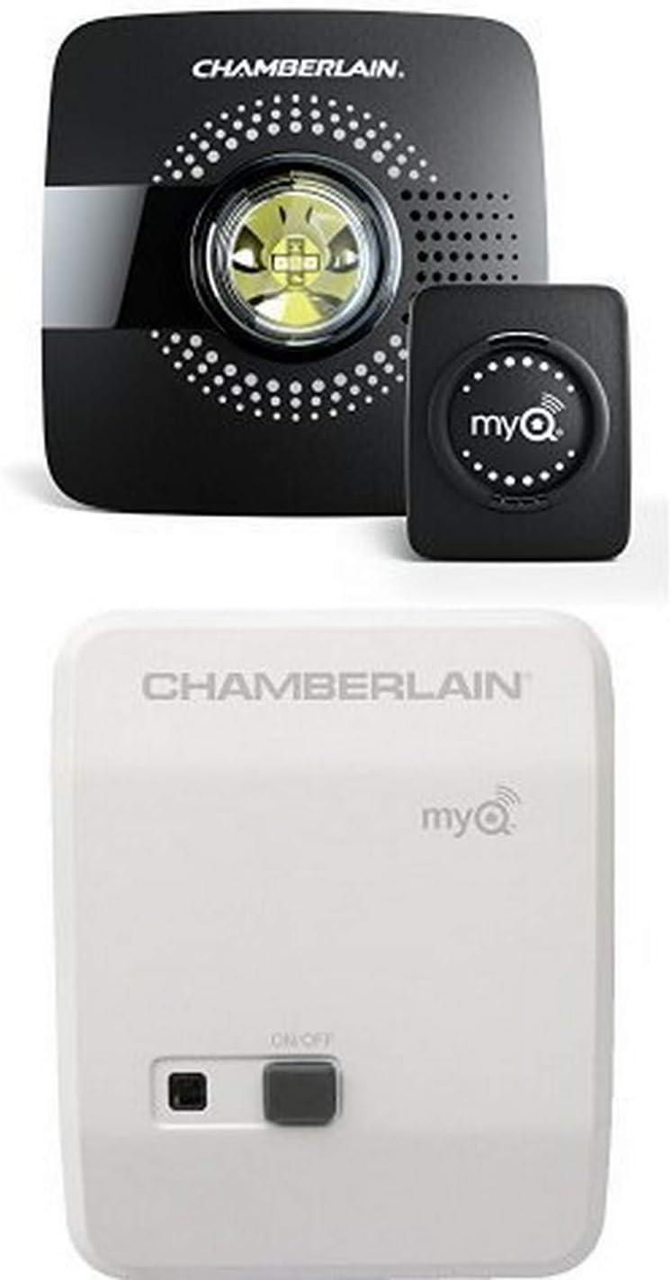 Chamberlain MyQ Add-On Sensor for Wi-Fi Smart Garage Door Hub ...