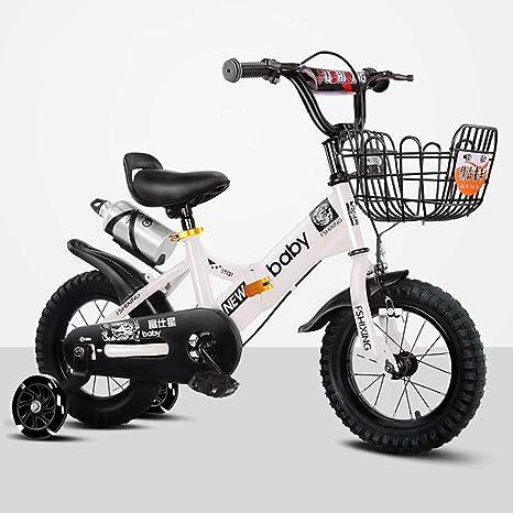 MLSH Bicicleta for niños de 2 a 8 años for niñas y niños, 14 16 18 ...