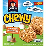 Quaker Chewy Granola Bars, Peanut Butter Marshmallow, 8 Bars Per Box (12 Boxes) Review