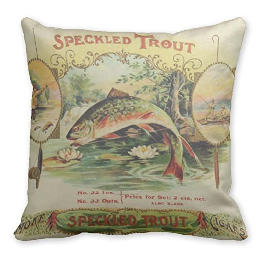 Kronial Decorative Pillow Covers Speckled Trout Sofa Decorative