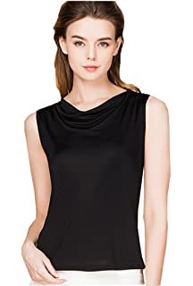 6b199bfbeee22 METWAY Women s Tank Tops Comfy Fit Swing Neck Silk Sleeveless Shirts