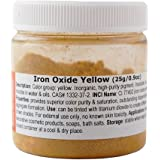 MakingCosmetics - Iron Oxide Yellow - 0.9oz / 25g - Cosmetic Ingredient