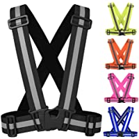 MS Adjustable Reflective Vest Belt For Safety With High Visibility