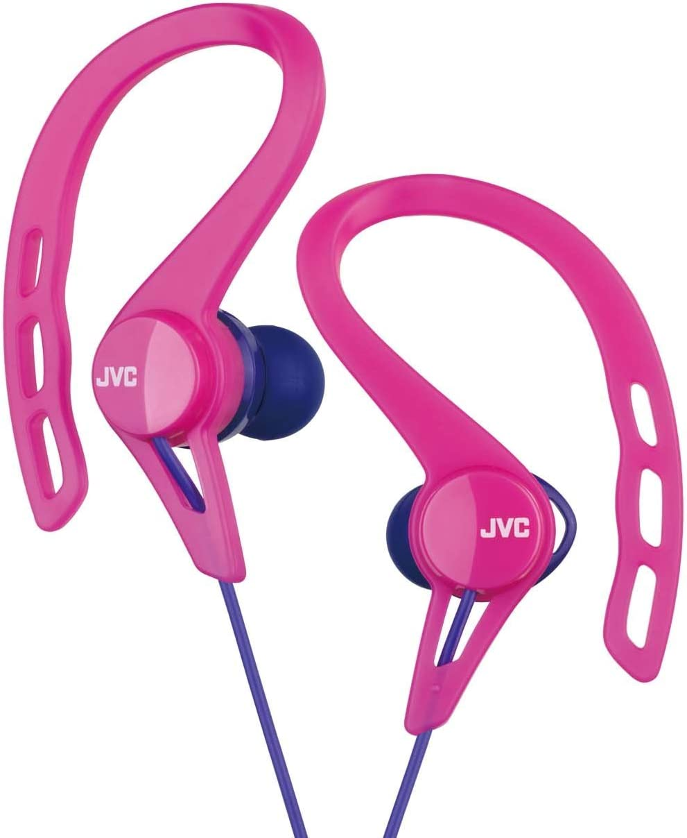 JVC HA-EXC25-P canal type earphone drip-proof specification Pink sports