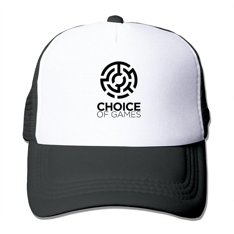 POPYol Unisex Choice Of Games Adjustable Mesh Baseball Hats Caps
