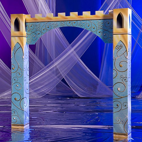 Fairytale Caste Arch Party Standup Photo Booth Prop Background Backdrop Party Decoration Decor Scene Setter Cardboard Cutout