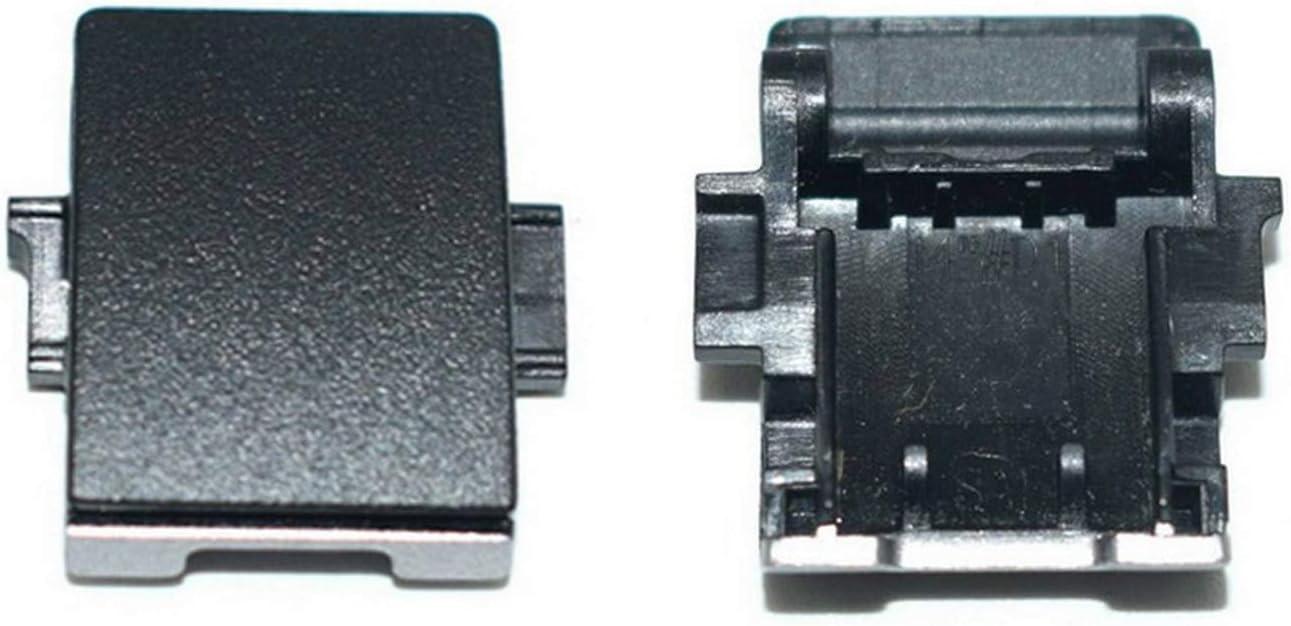 Todiys RJ-45 LAN Port Door Cover Black for HP EliteBook 740 745 750 755 828 840 848 850 ZBook 15U G3 G4 (Not Fit G1 G2) 917396-001 821175-001
