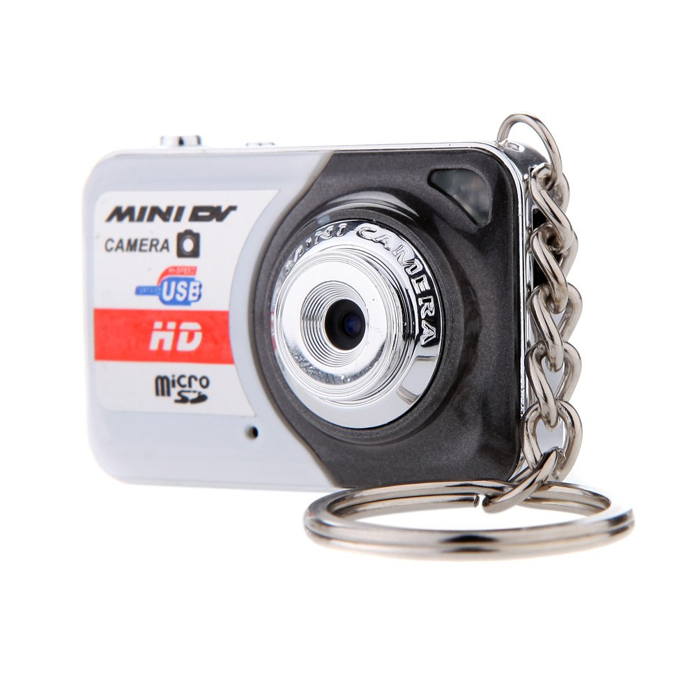 Andoer X6 Portable Ultra Mini HD High Denifition Digital Camera Mini DV Support 32GB TF Card with Mic