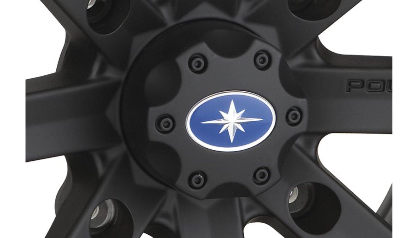 New Oem Polaris Flat Black Center Cap 1521509-521