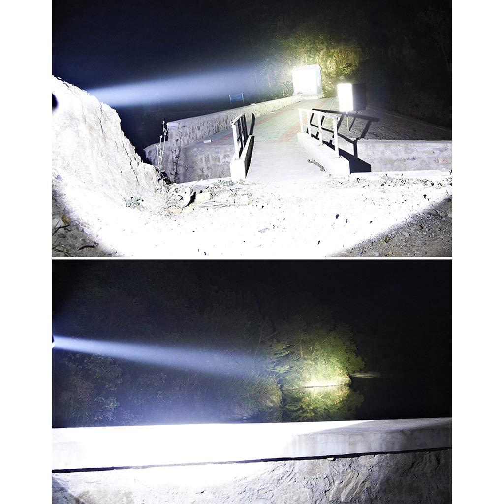 Starkes helles taschenlampen-langes geschossen 5000 Xenon-wieder aufladbares super helles helles super nach Hause wasserdichtes im Freienjagdsuchscheinwerfer (Farbe : L2 chip) b912d8