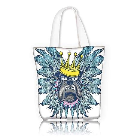 a7015d3c9f88 Amazon.com: Ladies canvas tote bag -W17.7 x H14 x D7 INCH/Shopping ...