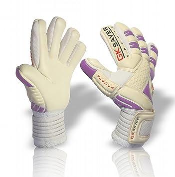 GK Saver Torwarthandschuhe Champ 01,/orange Fu/ßball negative Schnittform Torwart-Handschuhe