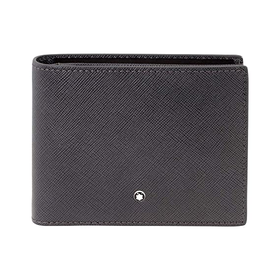 2b648bf6735f1 Image Unavailable. Image not available for. Color  Montblanc Sartorial  Men s Small Leather Horizontal Wallet ...