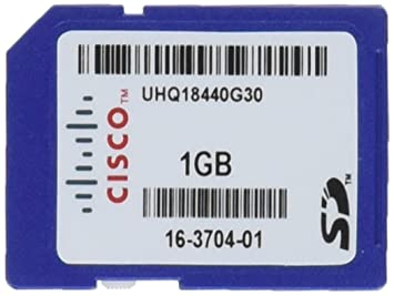 Cisco 1GB SD Memoria Flash - Tarjeta de Memoria (1 GB, SD ...