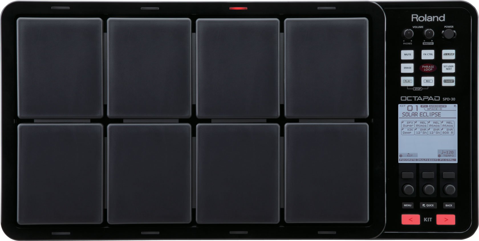 Roland OCTAPAD Digital Percussion Pad, black (SPD-30-BK) by Roland