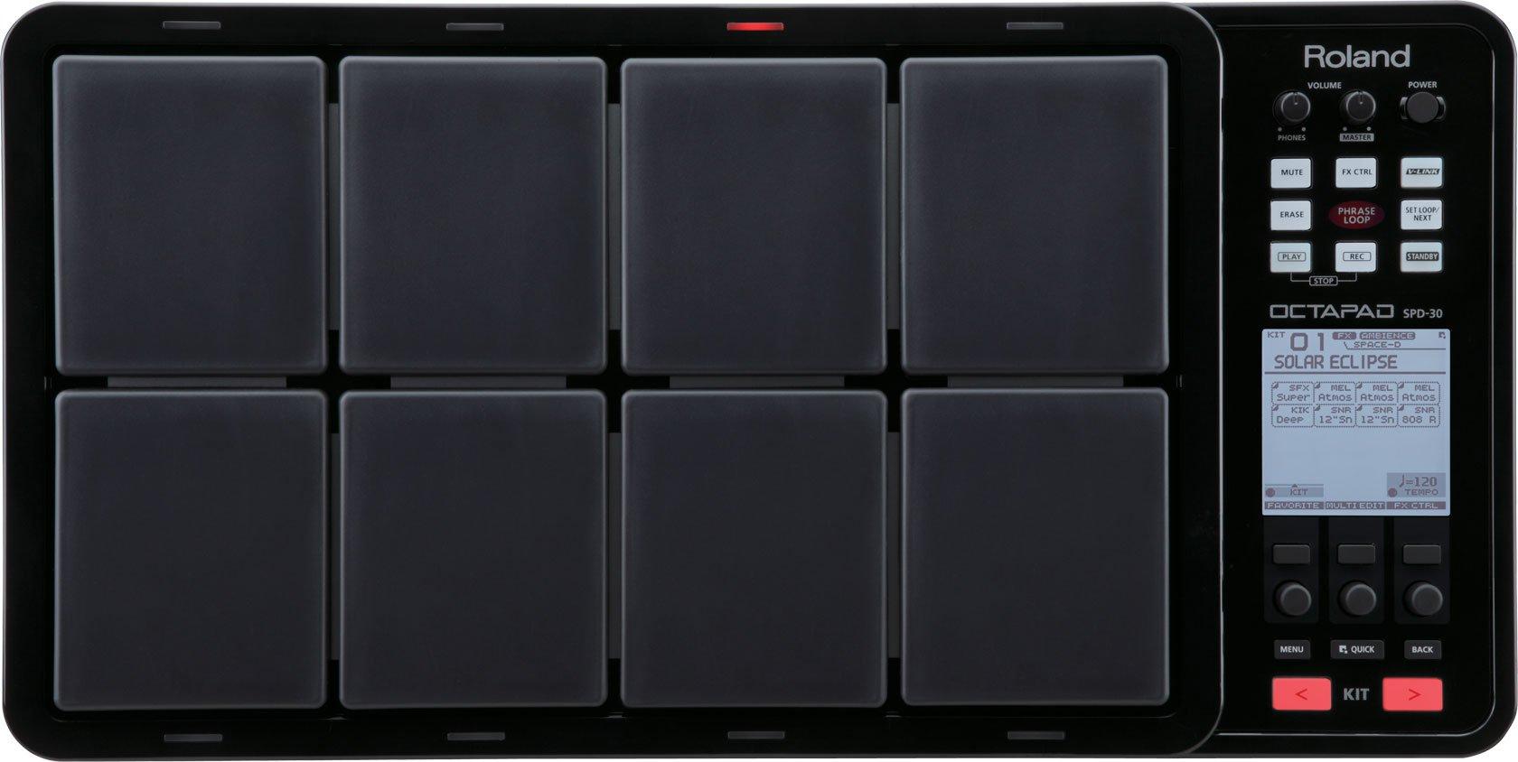 Roland OCTAPAD Digital Percussion Pad, black (SPD-30-BK) by Roland (Image #1)
