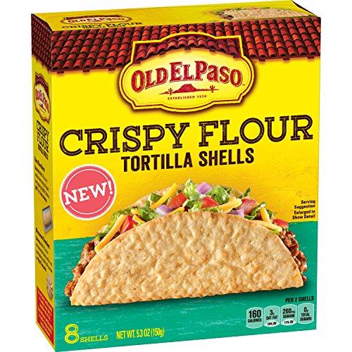 Old El Paso Crispy Flour Tortilla Shells, 5.3 oz