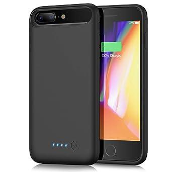 Yacikos Akku Hülle für iPhone 6 Plus/ 6S Plus /7 Plus /8 Plus, 8500mAh Tragbare Ladebatterie Handyhülle Zusatzakku Akku Case