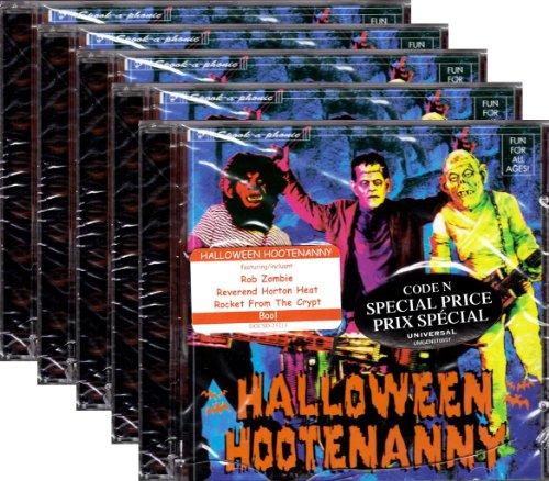 <Wholesale lot of 5> Halloween Hootenanny