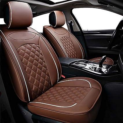 Negro y Rojo cubiertas de asiento de coche protectores universal adapta a Kia Pro Ceed