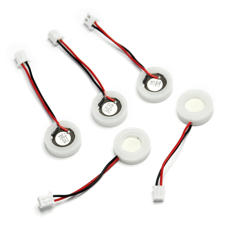 Gikfun Brumisante ultrasonique Disques de c/éramique avec Fil et Joint d/étanch/éit/é pour diffuseur dar/ômes DIY Kits Ek1868u Lot de 5