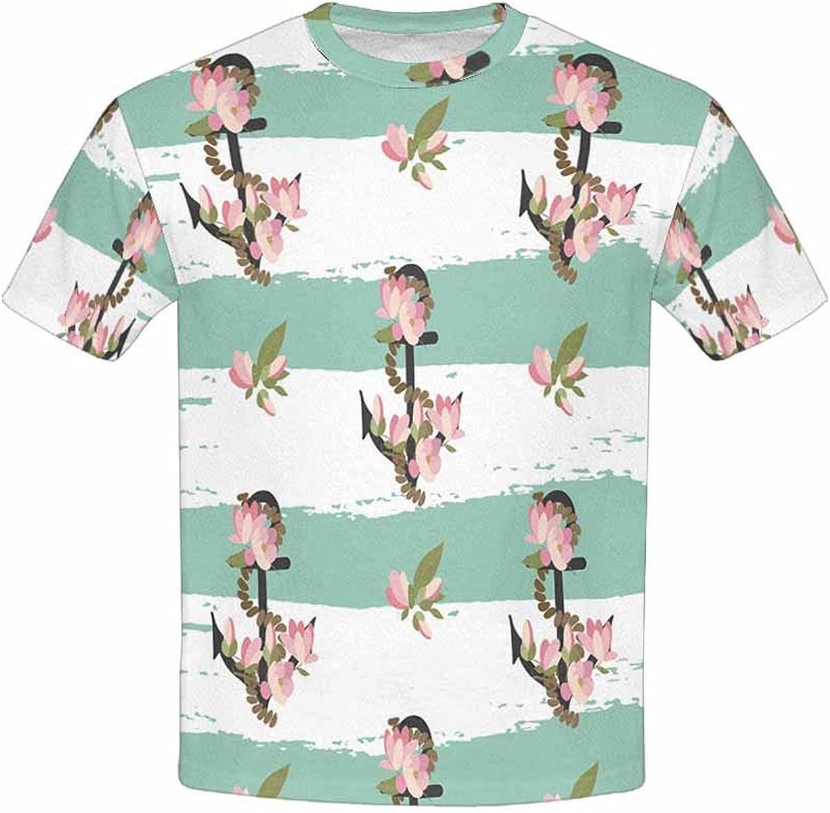 INTERESTPRINT Kids T-Shirt Floral Magnolia Vintage XS-XL