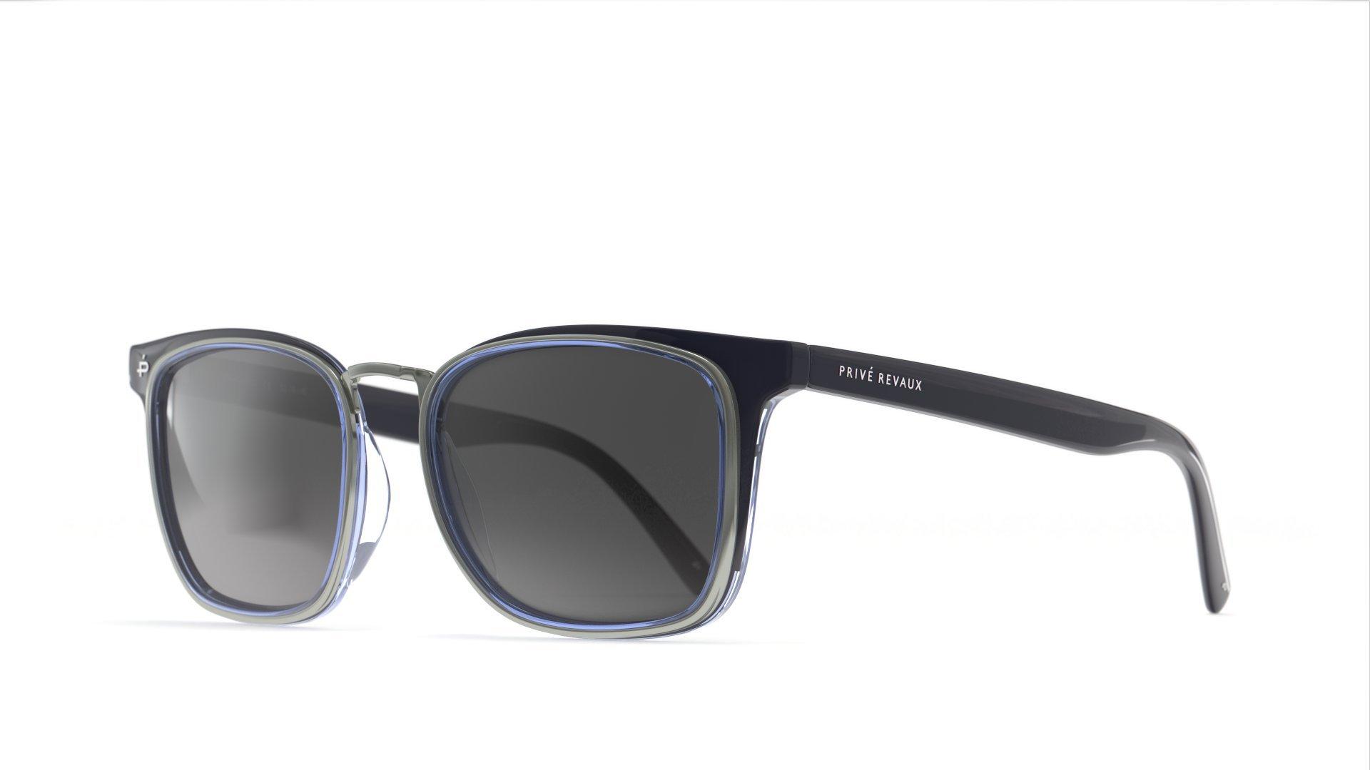 PRIVÉ REVAUX Places We Love Collection''The O.H.I.O'' Polarized Designer Square Sunglasses RandM Colab by PRIVÉ REVAUX (Image #2)
