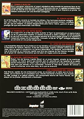 Pack Piratas 1 -6dvd-: Amazon.es: Varios Actores, Varios ...
