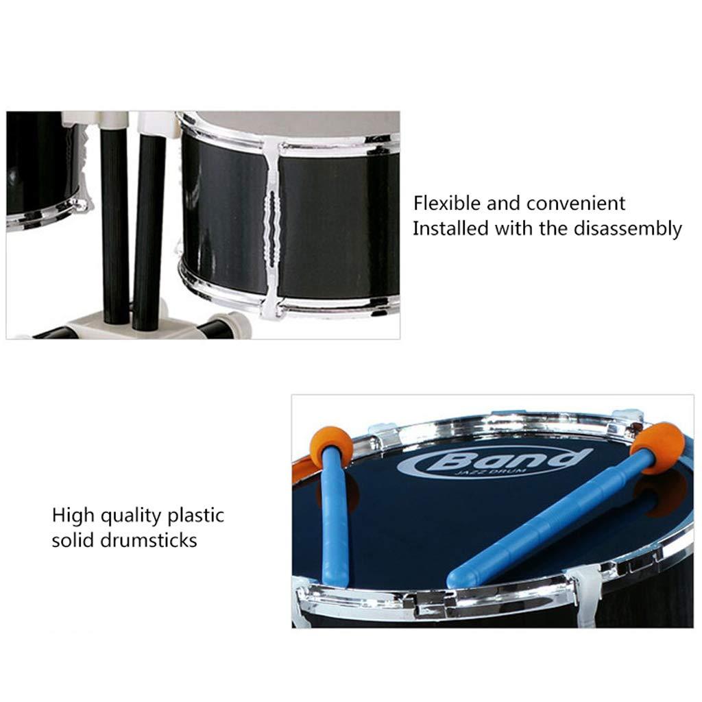 国産品 LIUFS-ドラム ドラム子供の初心者啓蒙大音楽玩具プラスチックギター (色 (色 : B07LBC2GS8 LIUFS-ドラム 黒) 黒 B07LBC2GS8, ゴルフ観音さま:2890c842 --- a0267596.xsph.ru