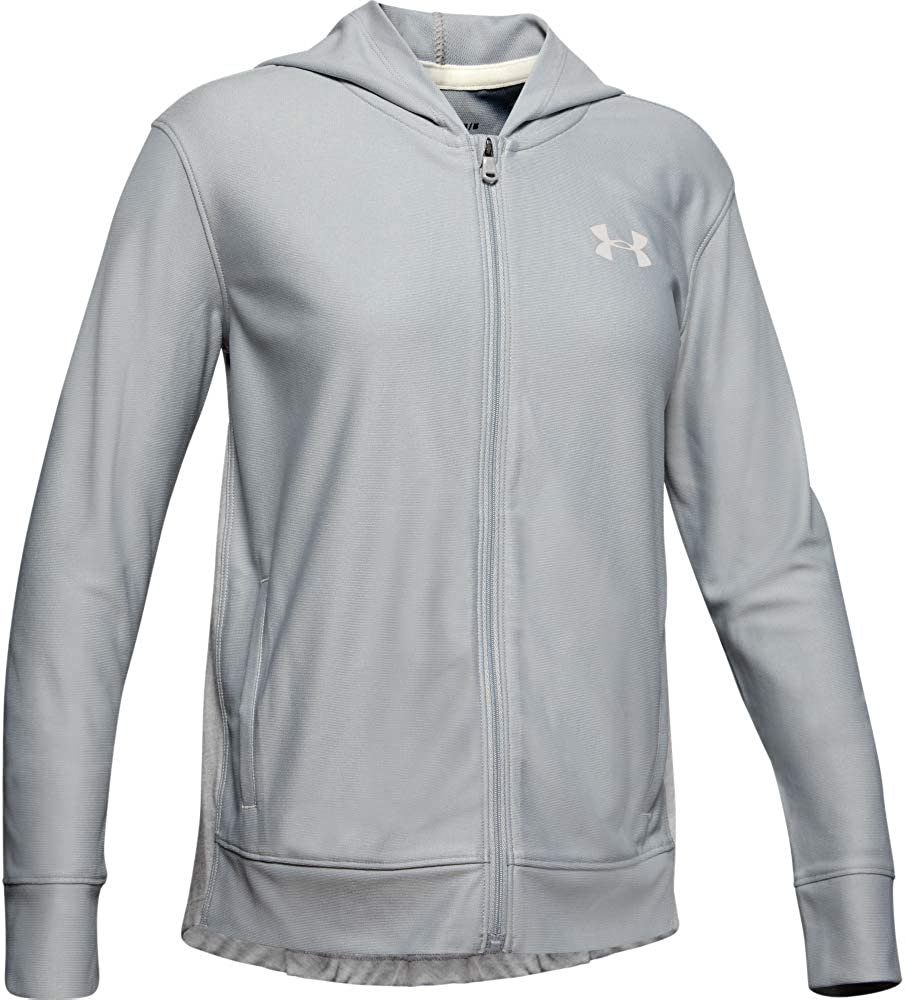 Large special price !! Under Armour Girls' Zip Full Max 54% OFF Finale