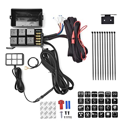 Tremendous Zhuotop 6 Gang Switch Panel Electronic Relay System Circuit Control Wiring 101 Photwellnesstrialsorg